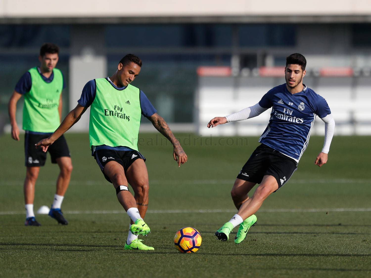 Real Madrid - Entrenamiento del Real Madrid - 31-01-2017