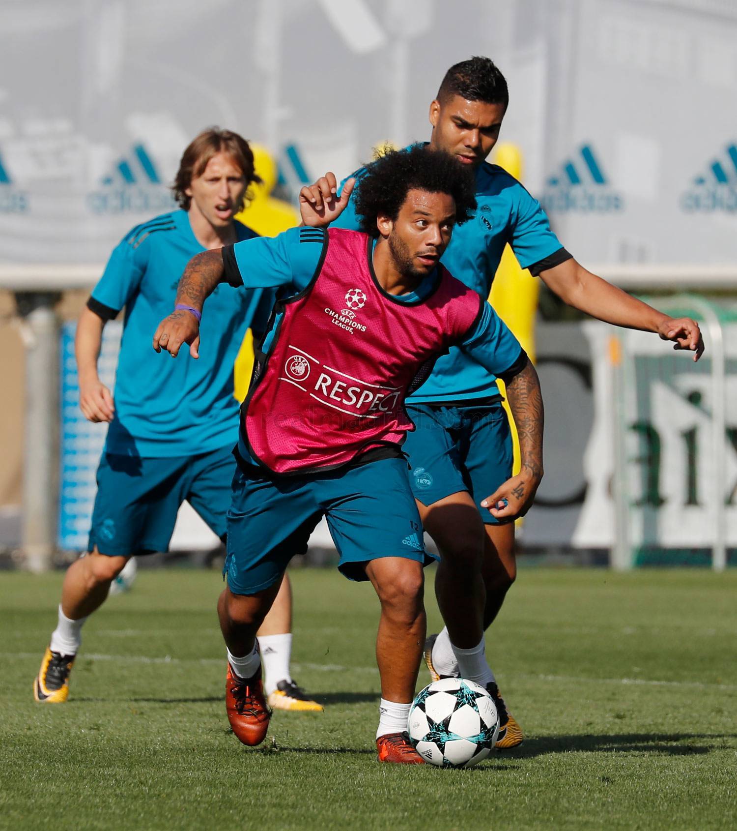 Real Madrid - Entrenamiento del Real Madrid - 16-10-2017