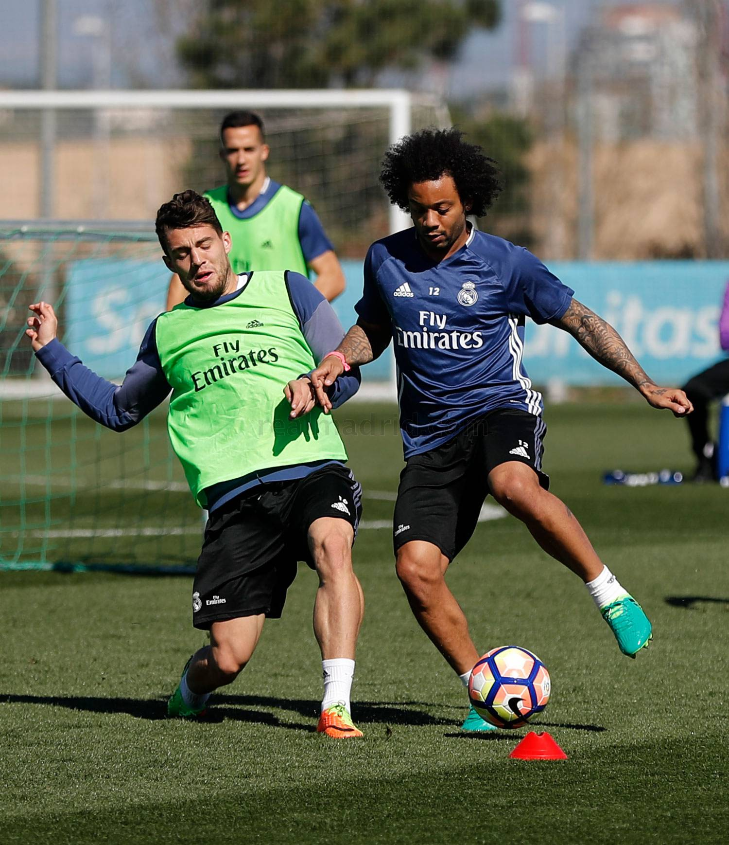 Real Madrid - Entrenamiento del Real Madrid - 16-03-2017