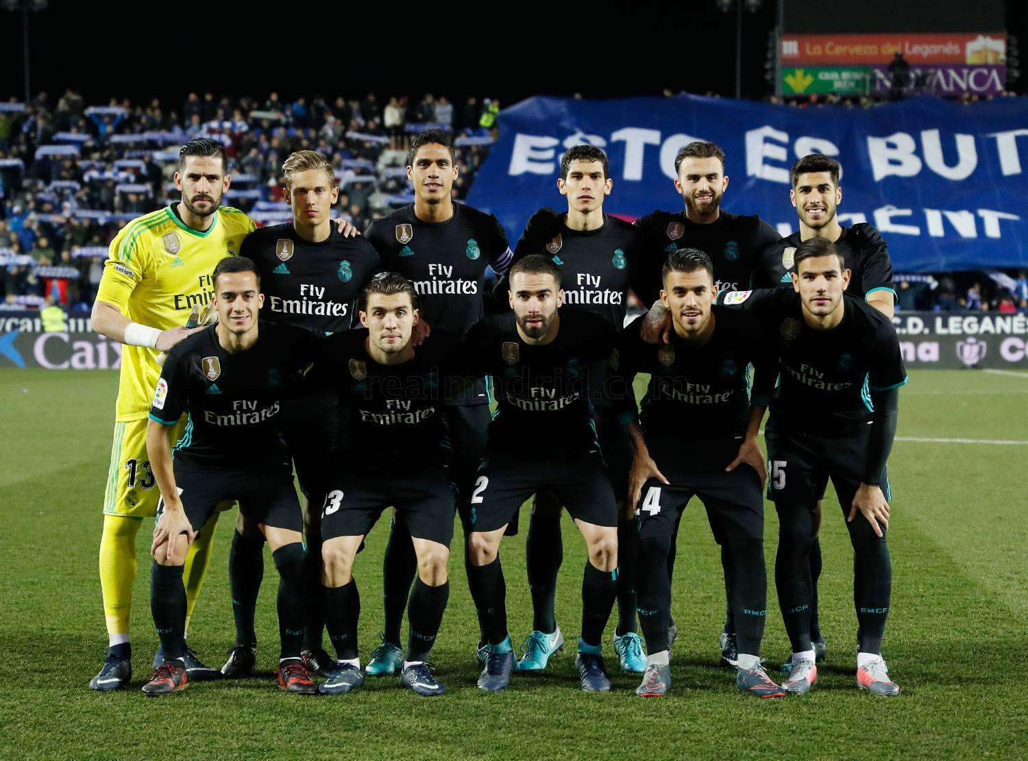 Real Madrid - Leganés - Real Madrid - 18-01-2018