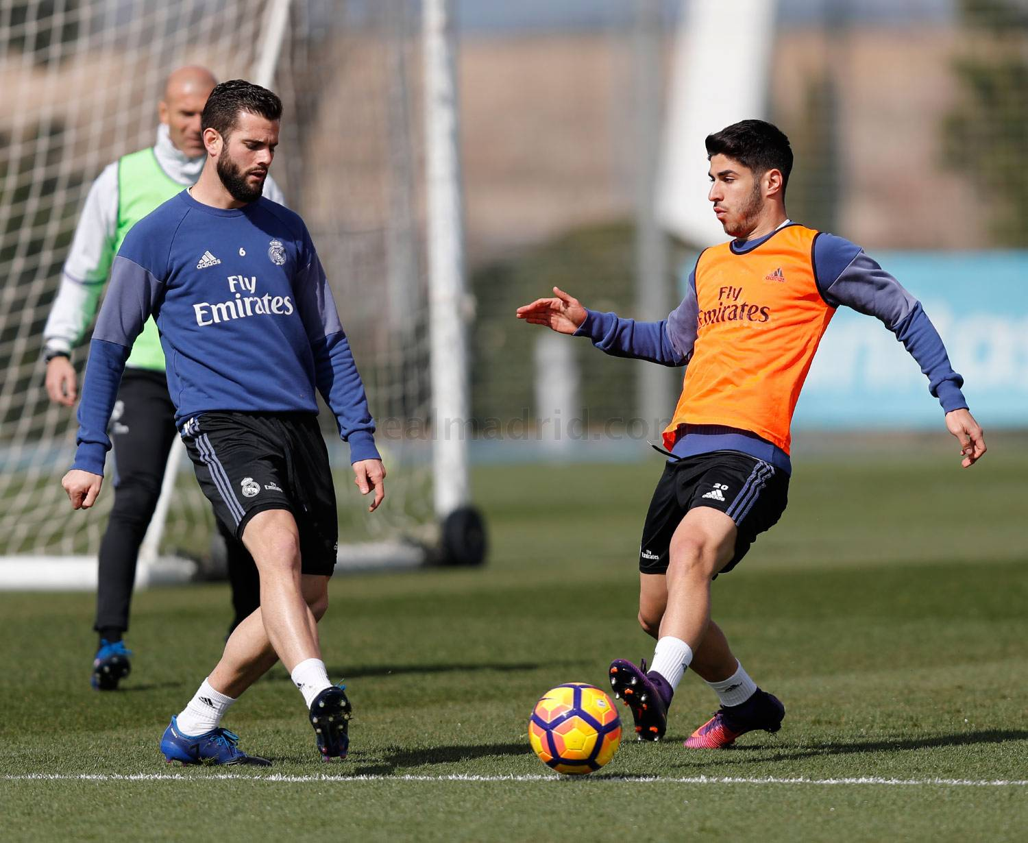 Real Madrid - Entrenamiento del Real Madrid - 27-02-2017