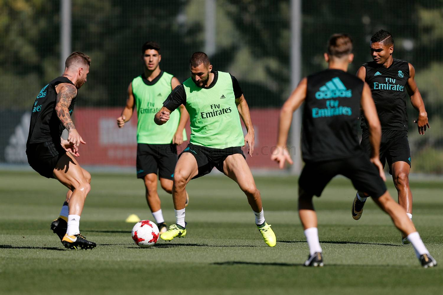 Real Madrid - Entrenamiento del Real Madrid - 12-08-2017