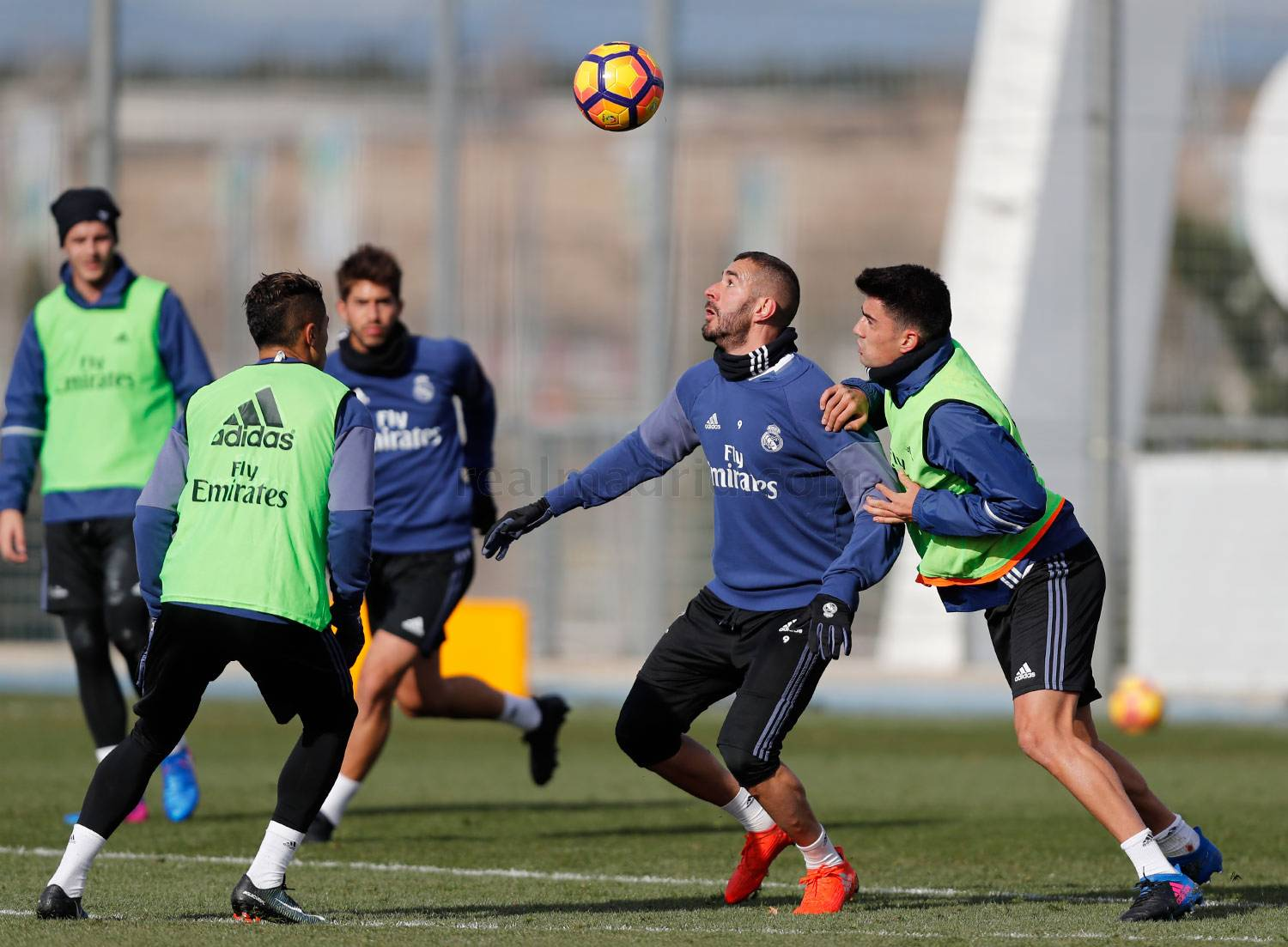 Real Madrid - Entrenamiento del Real Madrid - 19-01-2017