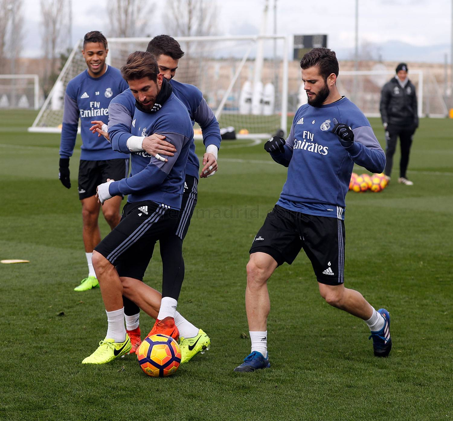 Real Madrid - Entrenamiento del Real Madrid - 28-02-2017