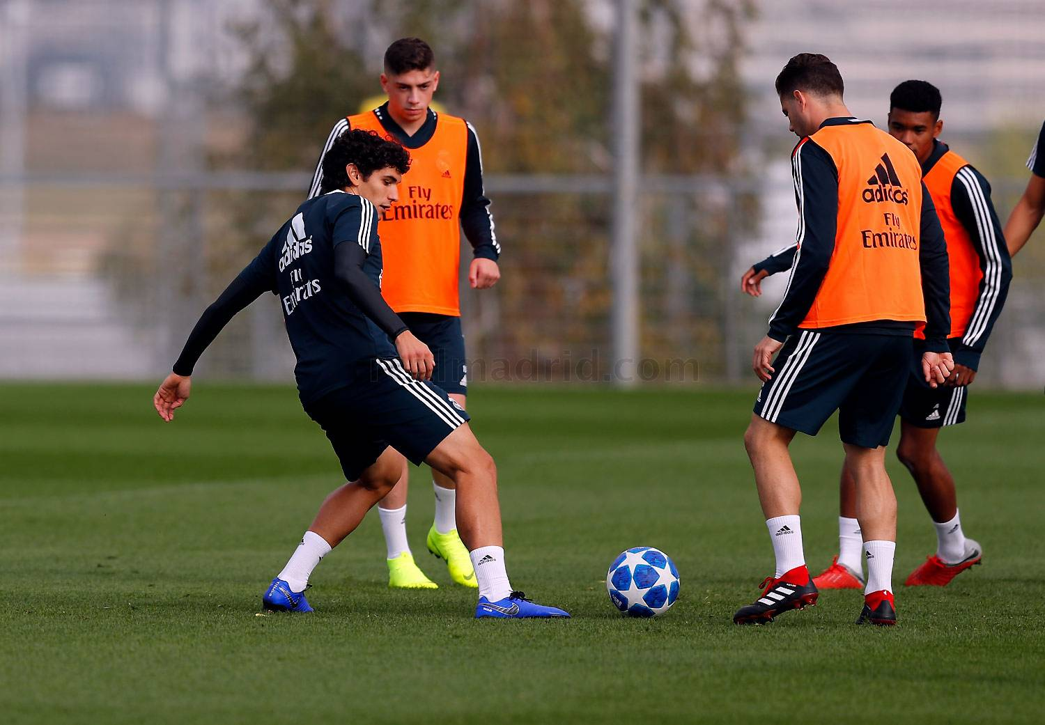 Real Madrid - Entrenamiento del Real Madrid - 21-10-2018