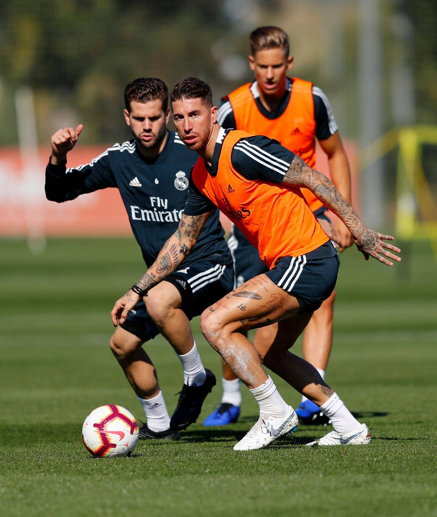 Real Madrid - Entrenamiento del Real Madrid - 17-10-2018