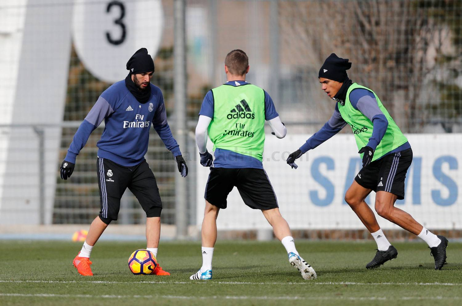 Real Madrid - Entrenamiento del Real Madrid - 20-01-2017