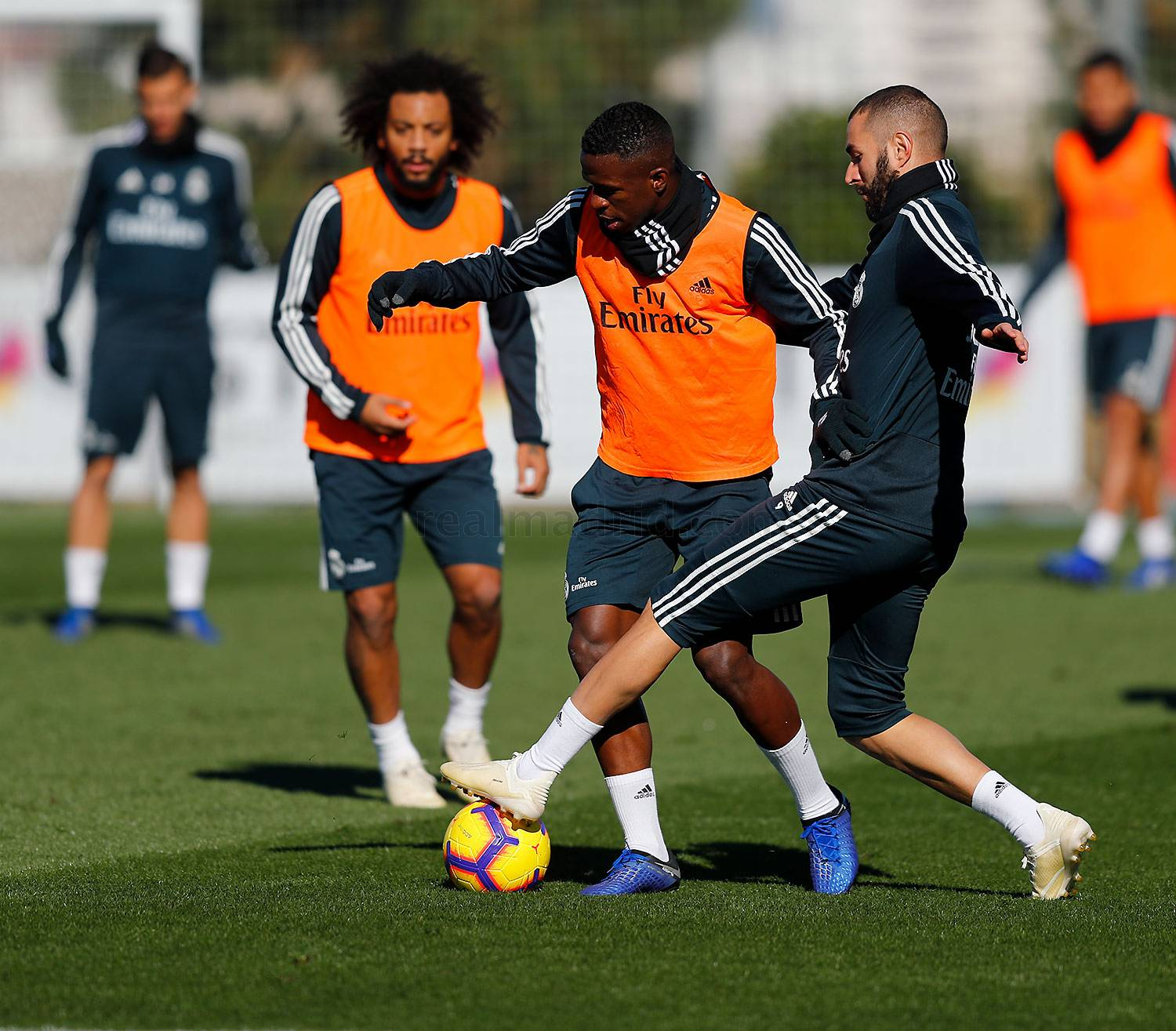 Real Madrid - Entrenamiento del Real Madrid - 09-11-2018