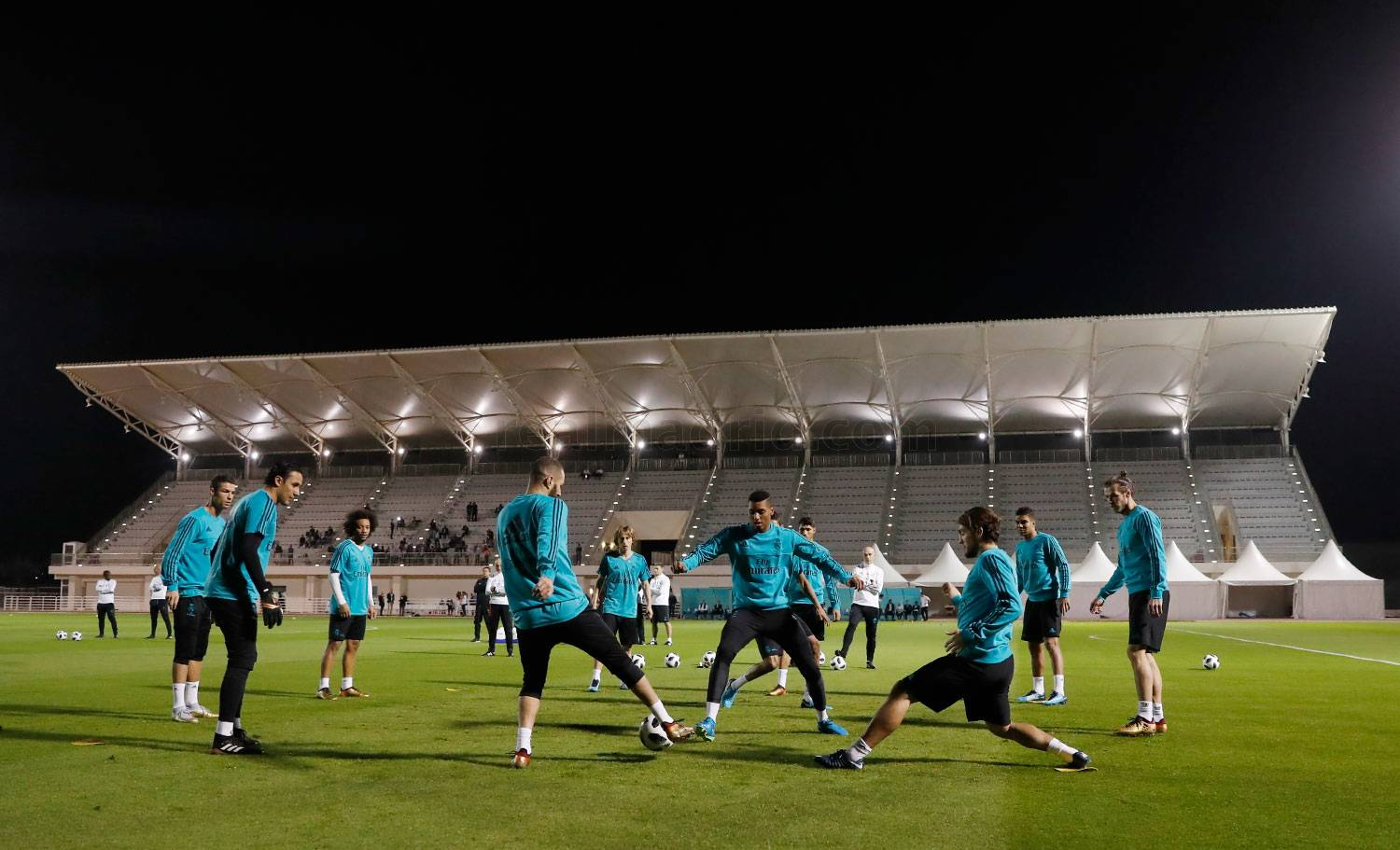 Real Madrid - Entrenamiento del Real Madrid en Abu Dabi - 15-12-2017