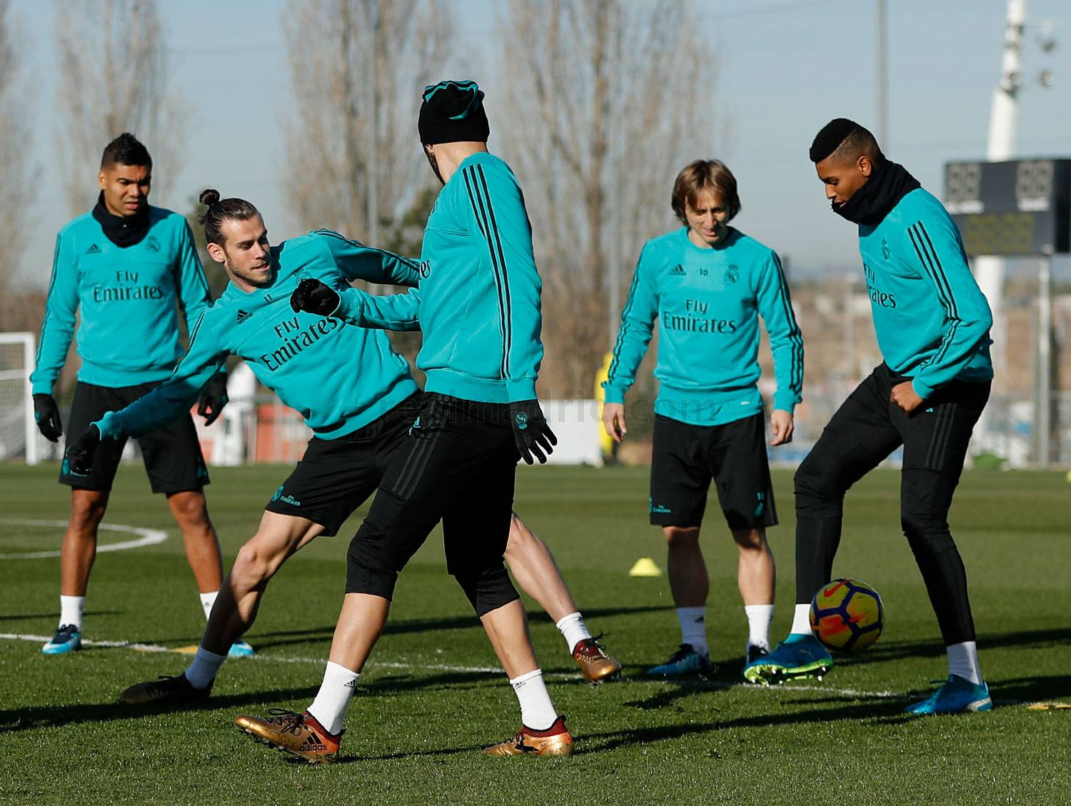 Real Madrid - Entrenamiento del Real Madrid - 22-12-2017