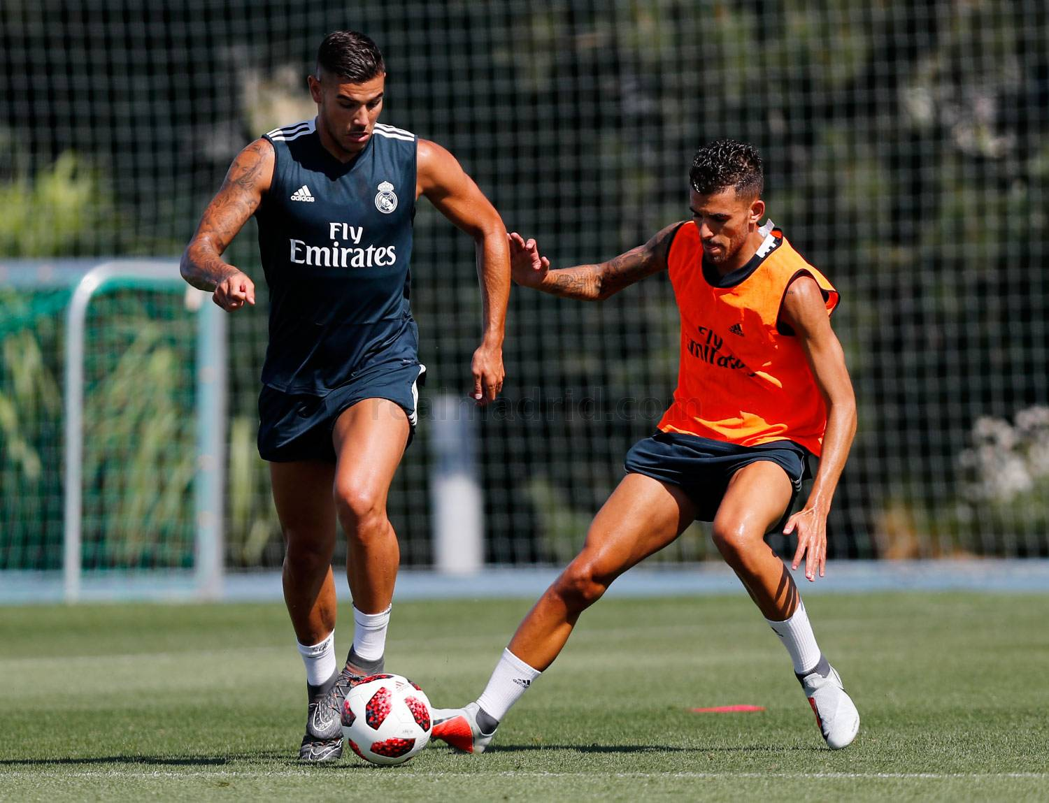 Real Madrid - Entrenamiento del Real Madrid - 20-07-2018
