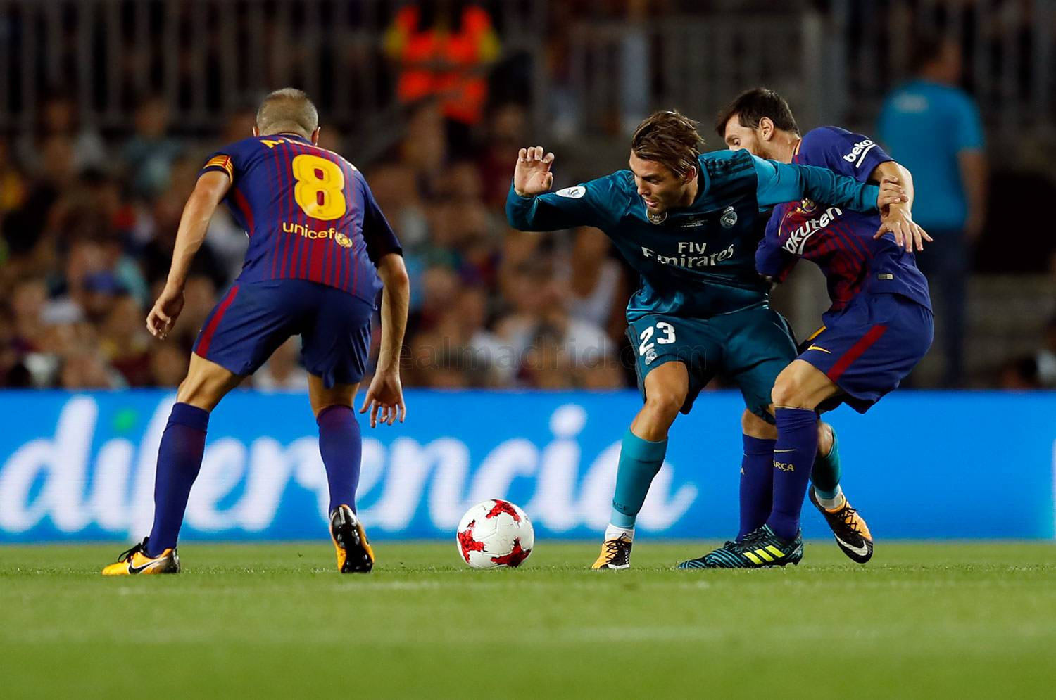 Real Madrid - Barcelona - Real Madrid - 13-08-2017