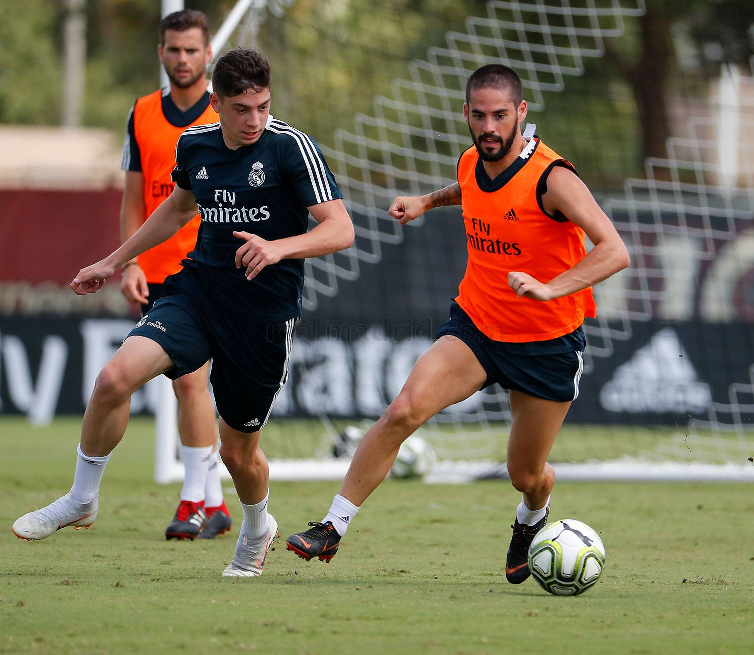 Real Madrid - Entrenamiento del Real Madrid en la Universidad de Barry - 03-08-2018