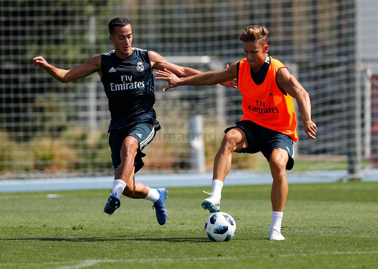 Real Madrid - Entrenamiento del Real Madrid - 12-08-2018