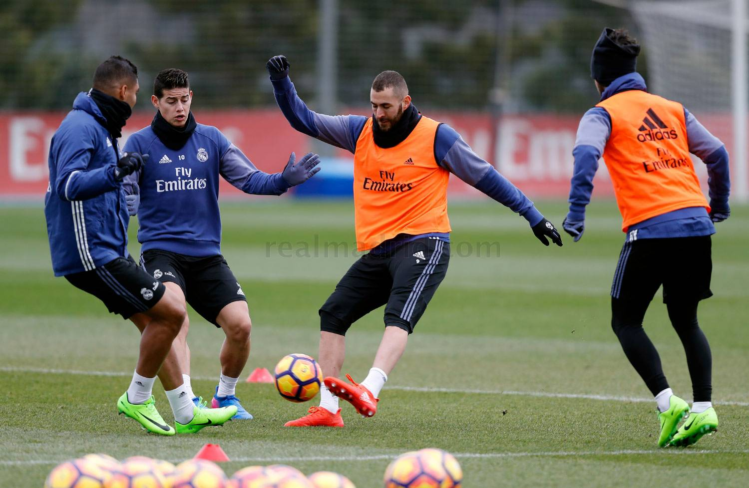 Real Madrid - Entrenamiento del Real Madrid - 03-02-2017