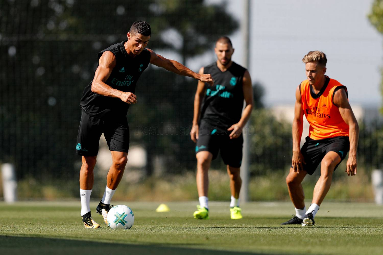 Real Madrid - Entrenamiento del Real Madrid - 05-08-2017