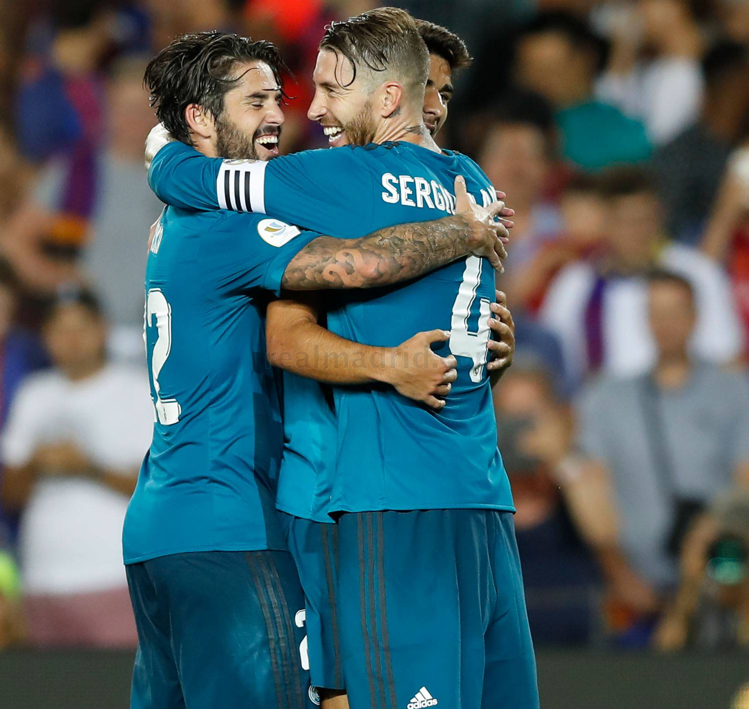 Real Madrid - Barcelona - Real Madrid - 14-08-2017