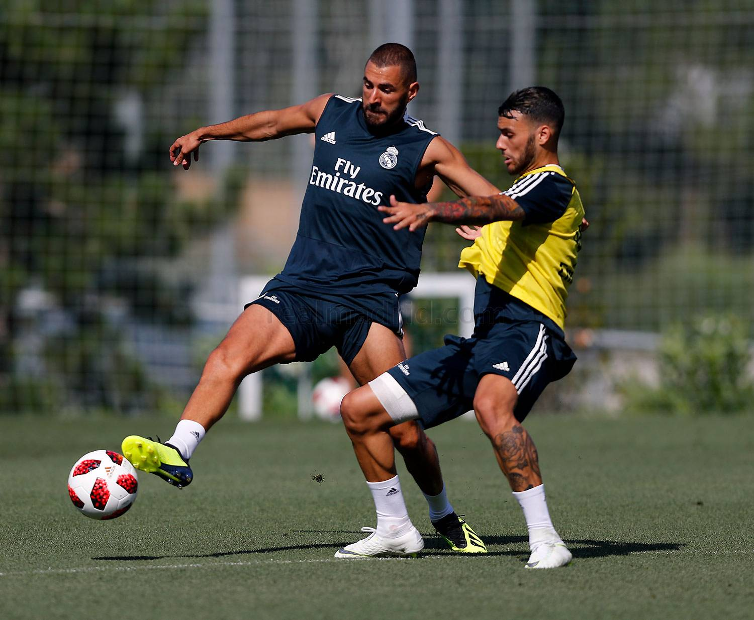 Real Madrid - Entrenamiento del Real Madrid - 21-07-2018