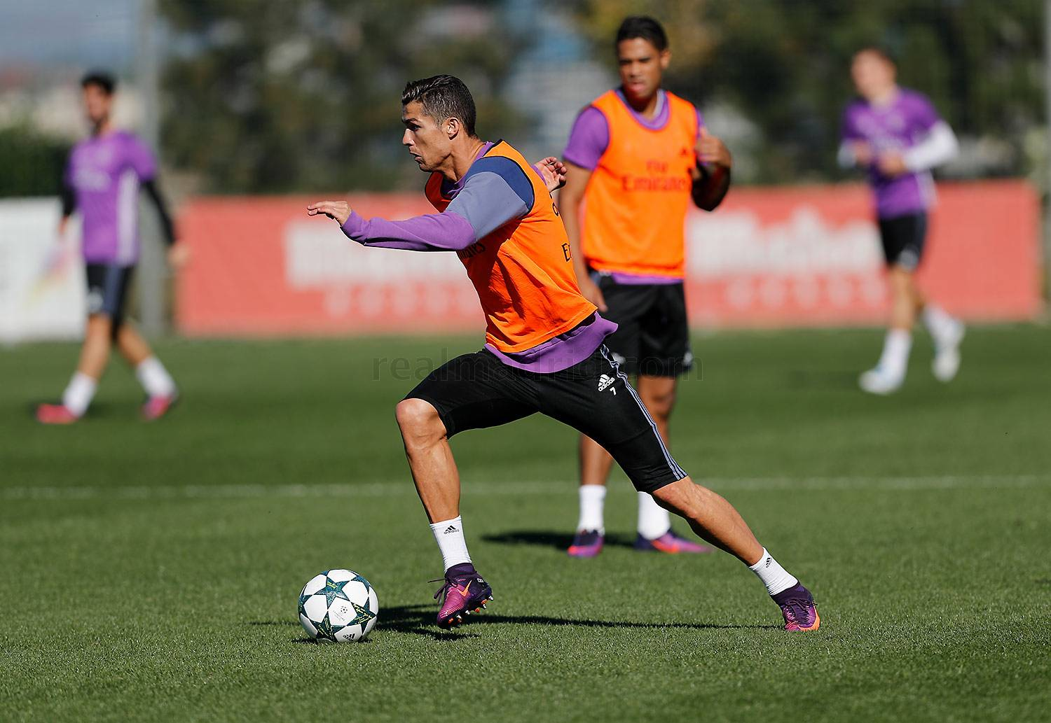 Real Madrid - Entrenamiento del Real Madrid - 31-10-2016