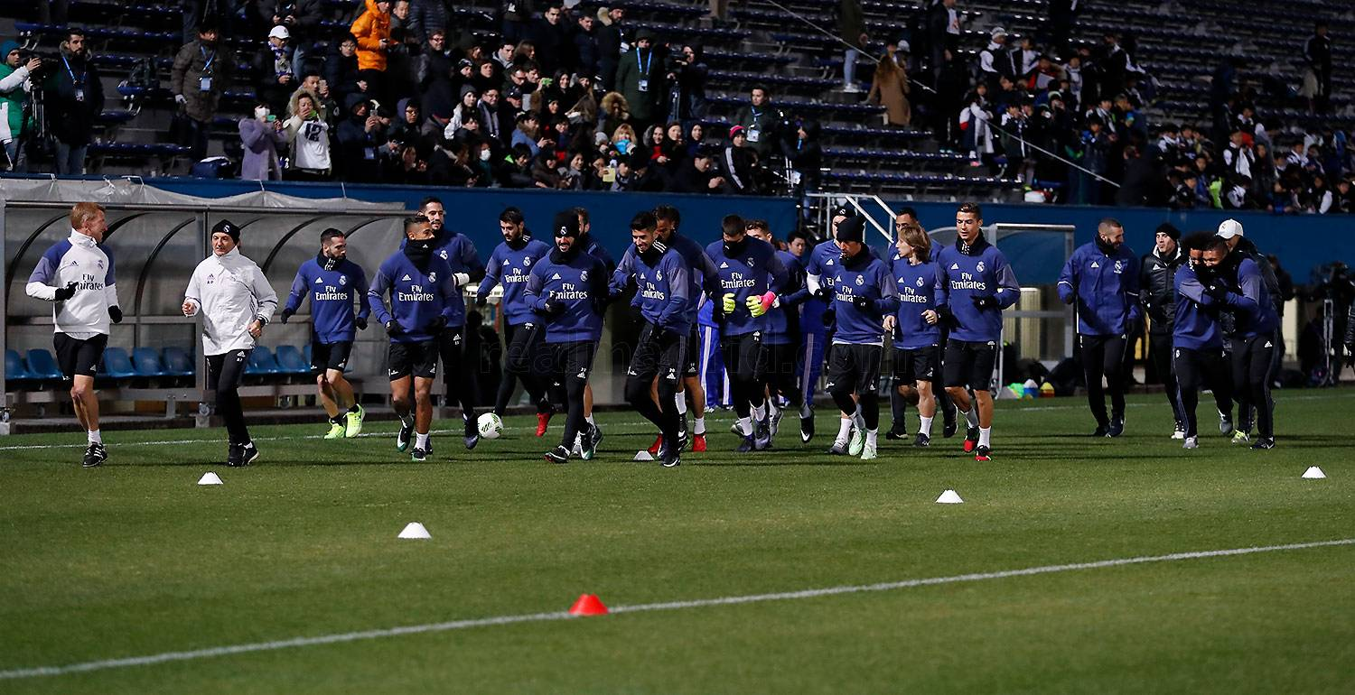 Real Madrid - Entrenamiento del Real Madrid - 16-12-2016
