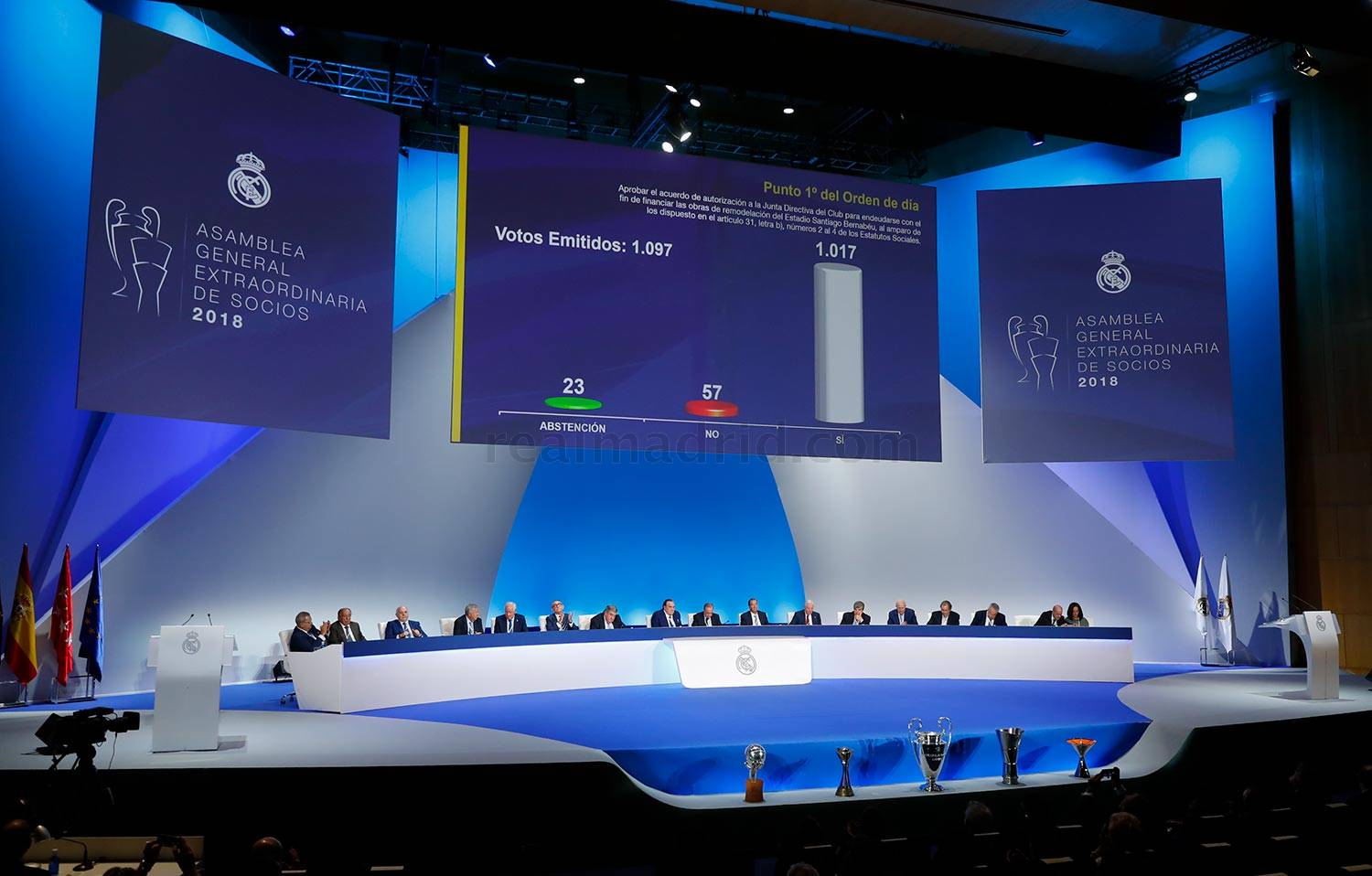 Real Madrid - Asamblea General Extraordinaria 2018 - 23-09-2018