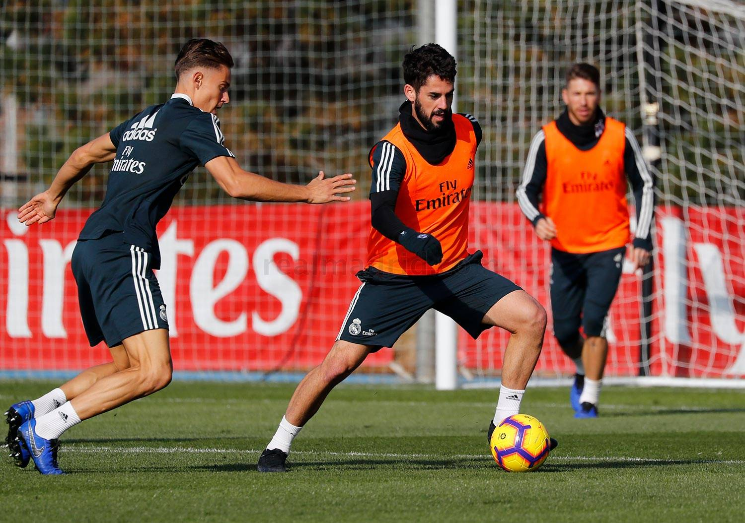 Real Madrid - Entrenamiento del Real Madrid - 30-11-2018