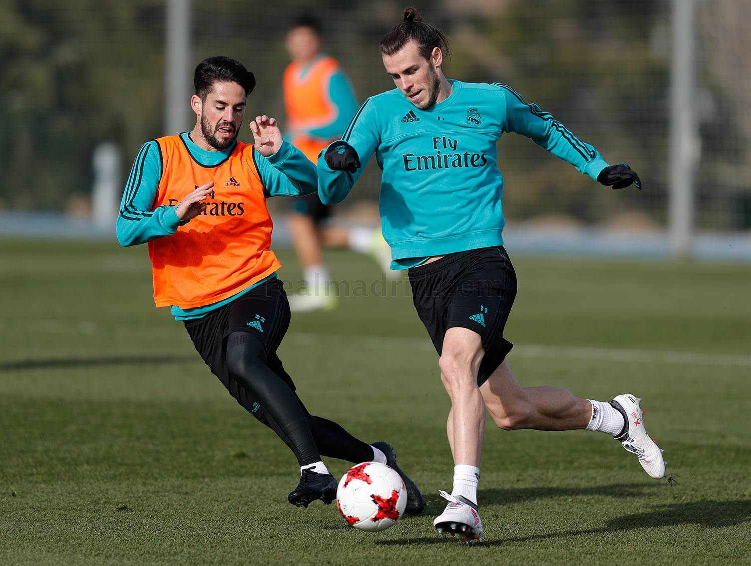 Real Madrid - Entrenamiento del Real Madrid - 23-01-2018