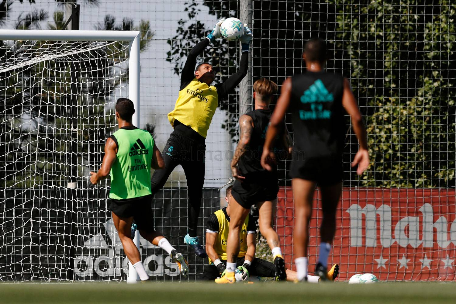 Real Madrid - Entrenamiento del Real Madrid - 06-08-2017