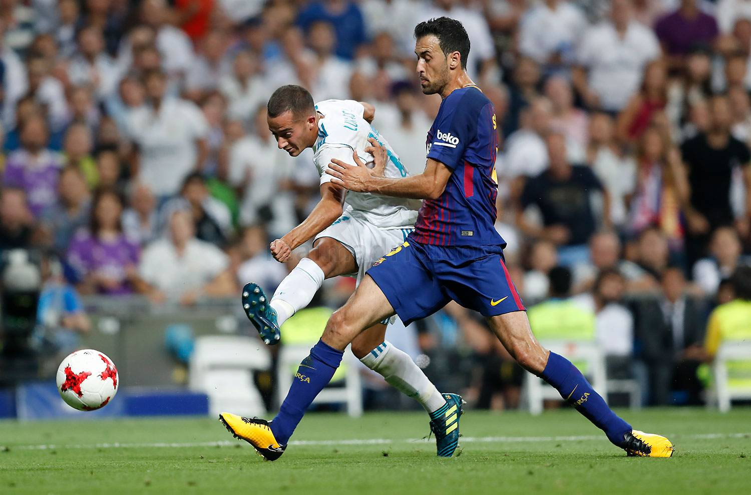 Real Madrid - Real Madrid - Barcelona - 17-08-2017