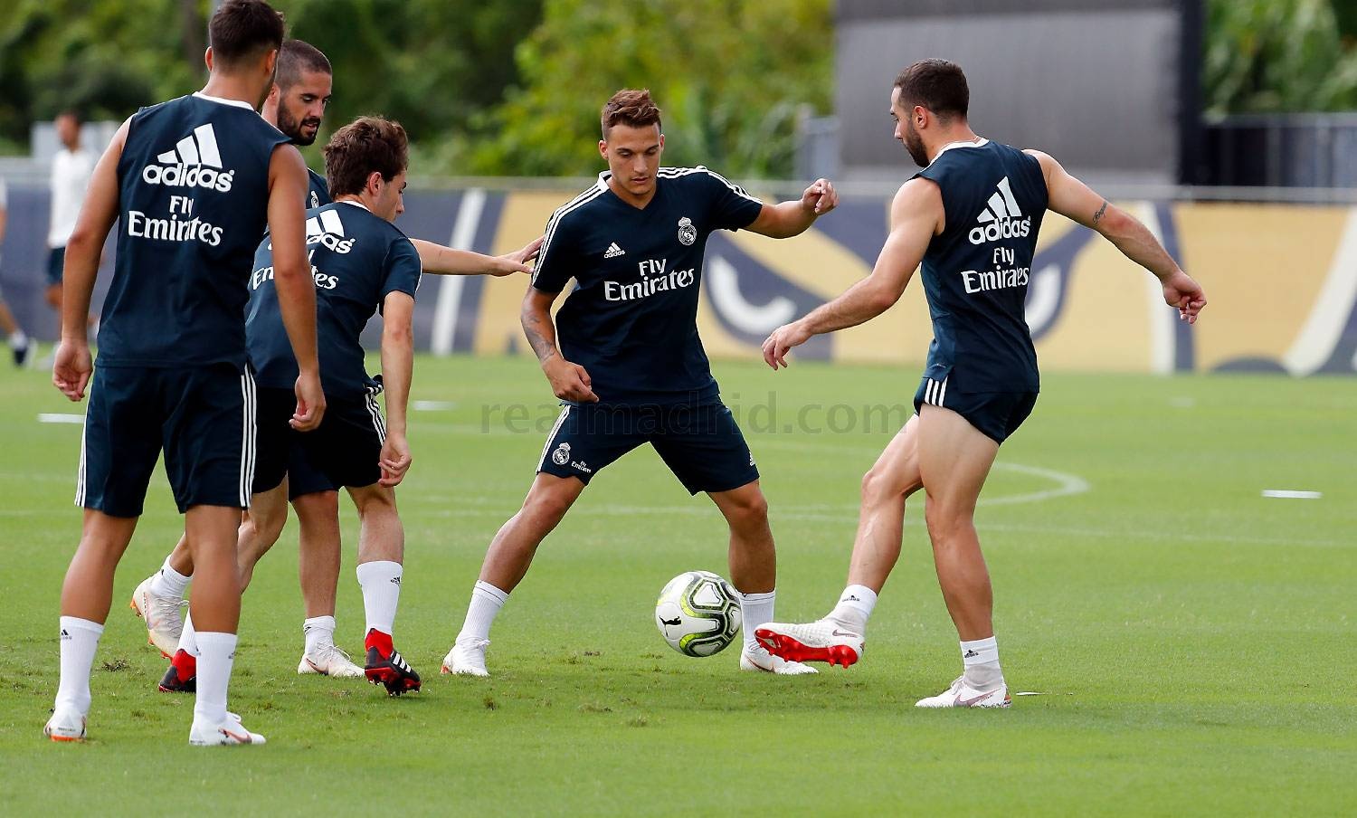 Real Madrid - Entrenamiento del Real Madrid en FIU - 29-07-2018
