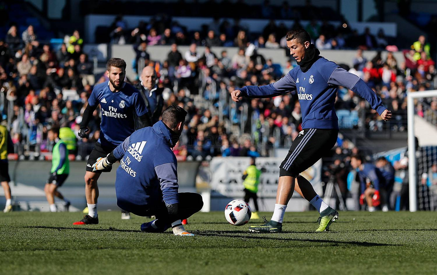 Real Madrid - Entrenamiento del Real Madrid - 30-12-2016