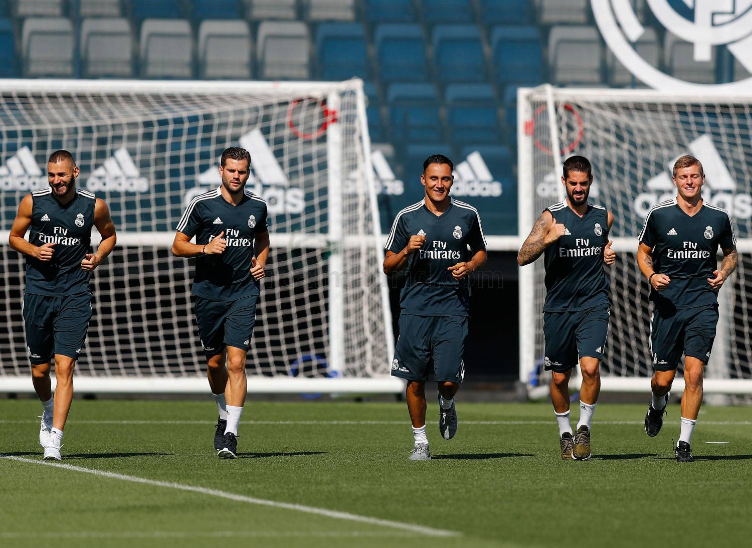 Real Madrid - Entrenamiento del Real Madrid - 20-08-2018