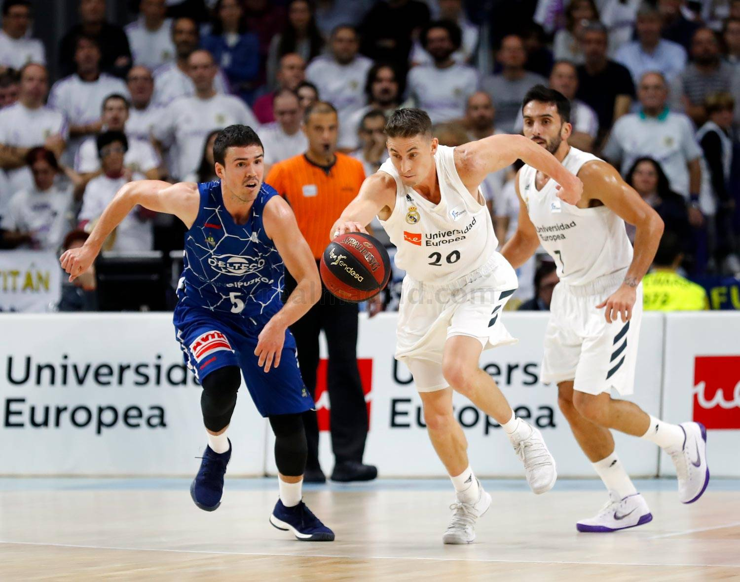 Real Madrid - Real Madrid - Delteco Gipuzkoa Basket - 18-11-2018