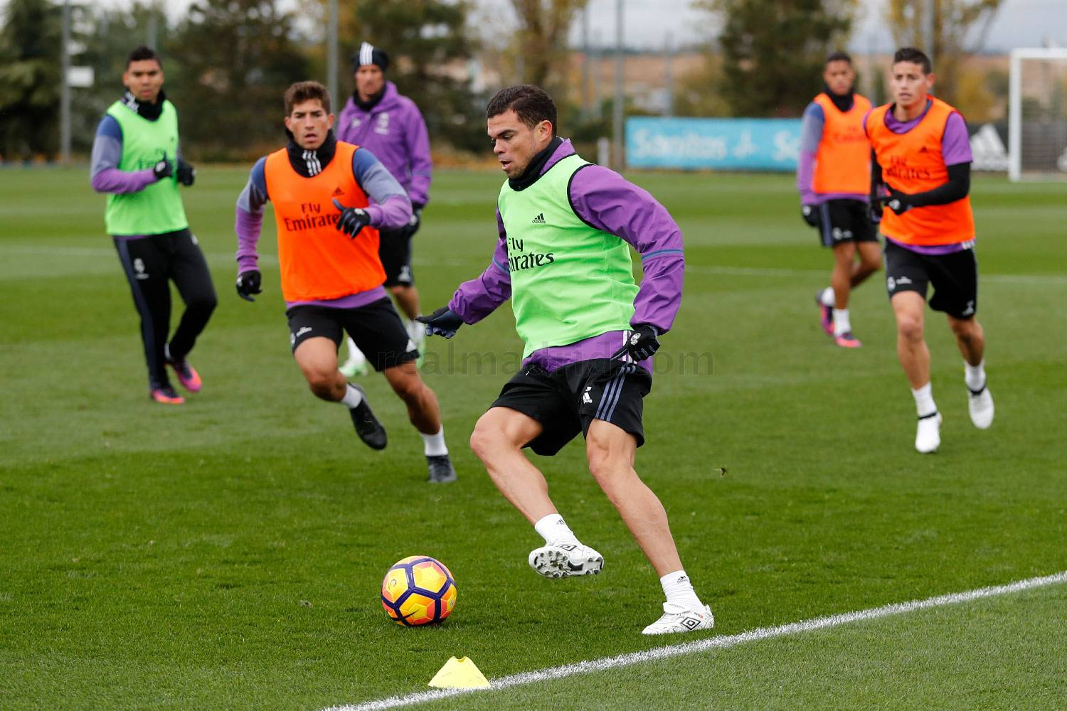 Real Madrid - Entrenamiento del Real Madrid - 23-11-2016