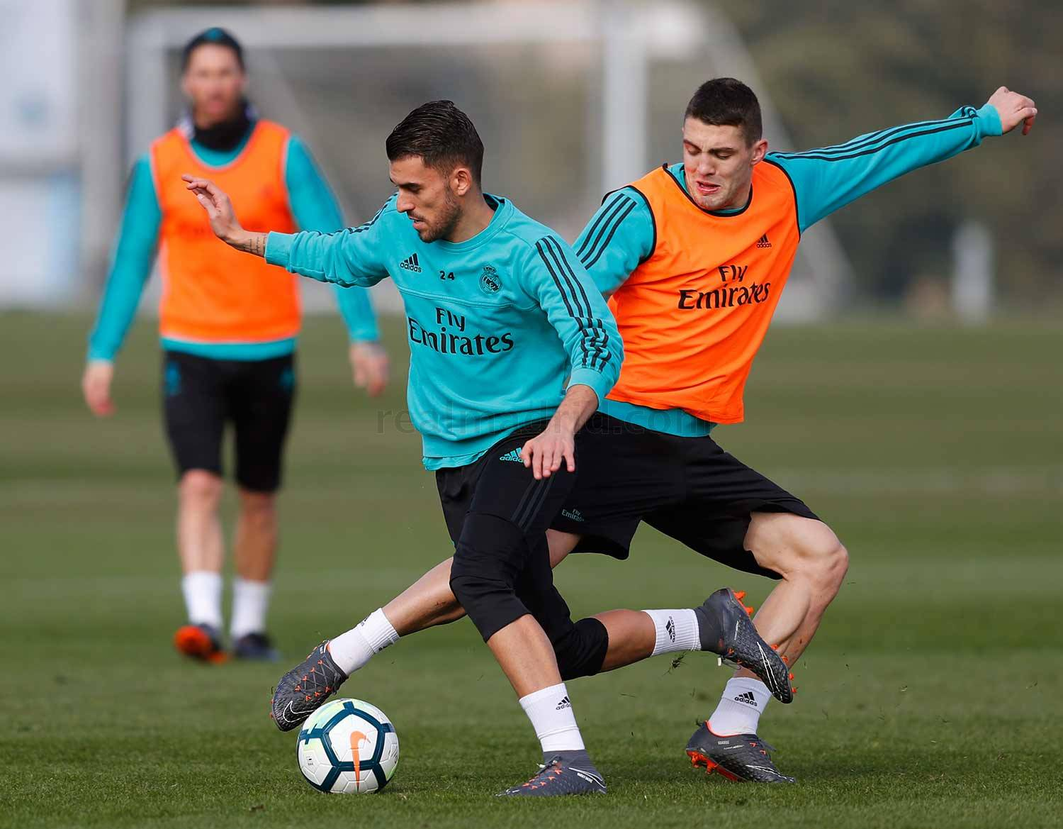 Real Madrid - Entrenamiento del Real Madrid - 17-02-2018