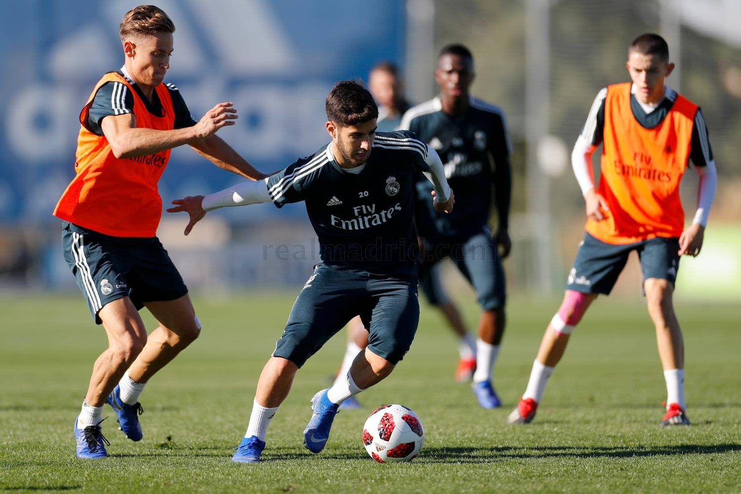 Real Madrid - Entrenamiento del Real Madrid - 04-12-2018