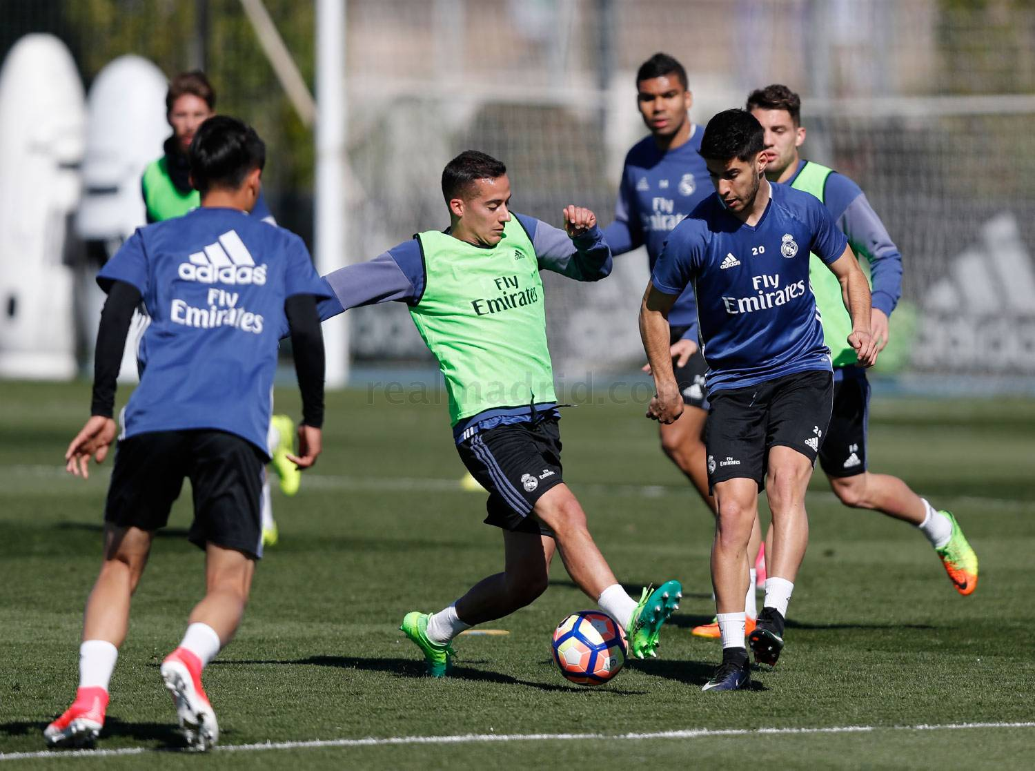 Real Madrid - Entrenamiento del Real Madrid - 03-04-2017