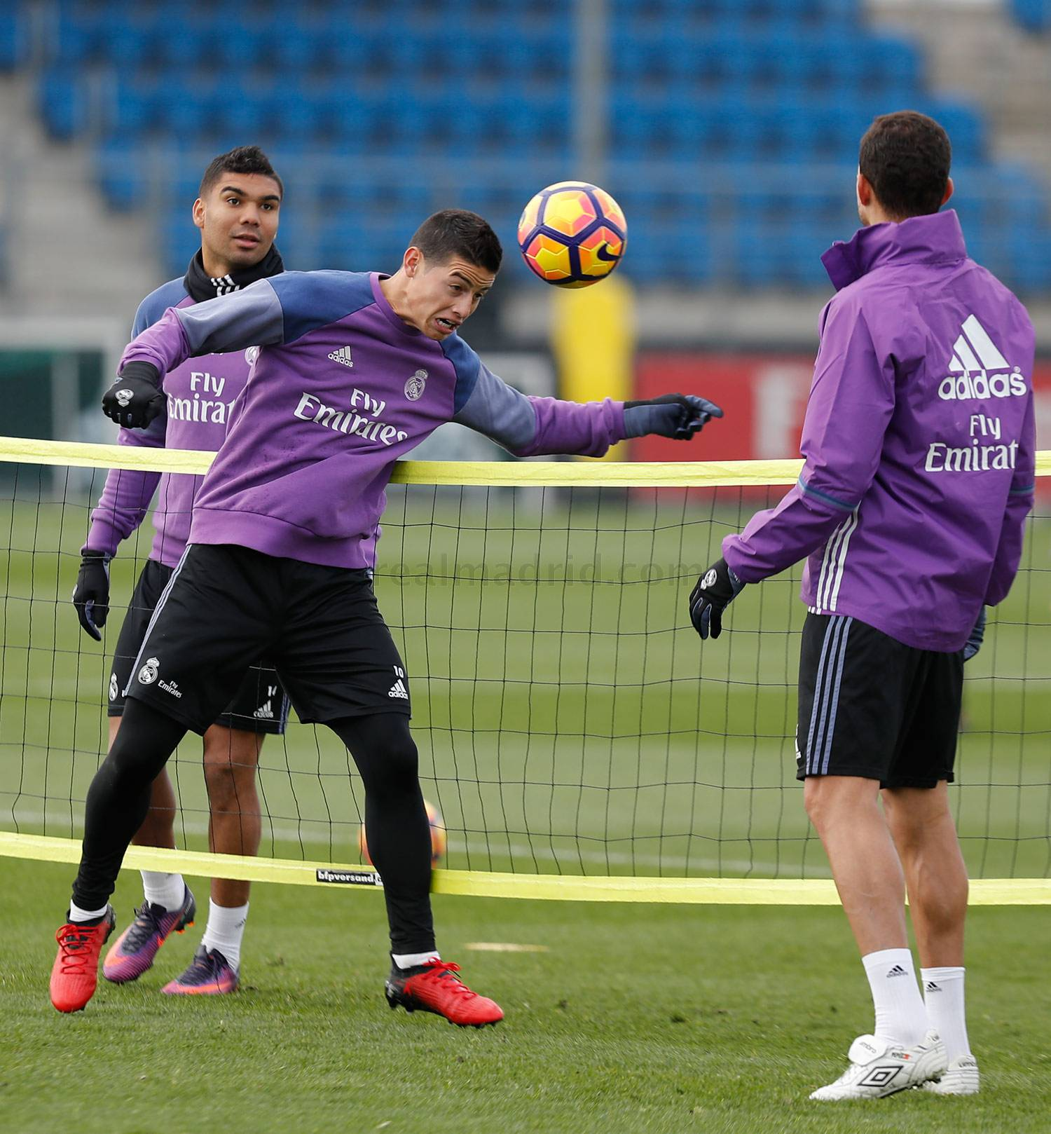 Real Madrid - Entrenamiento del Real Madrid - 24-11-2016