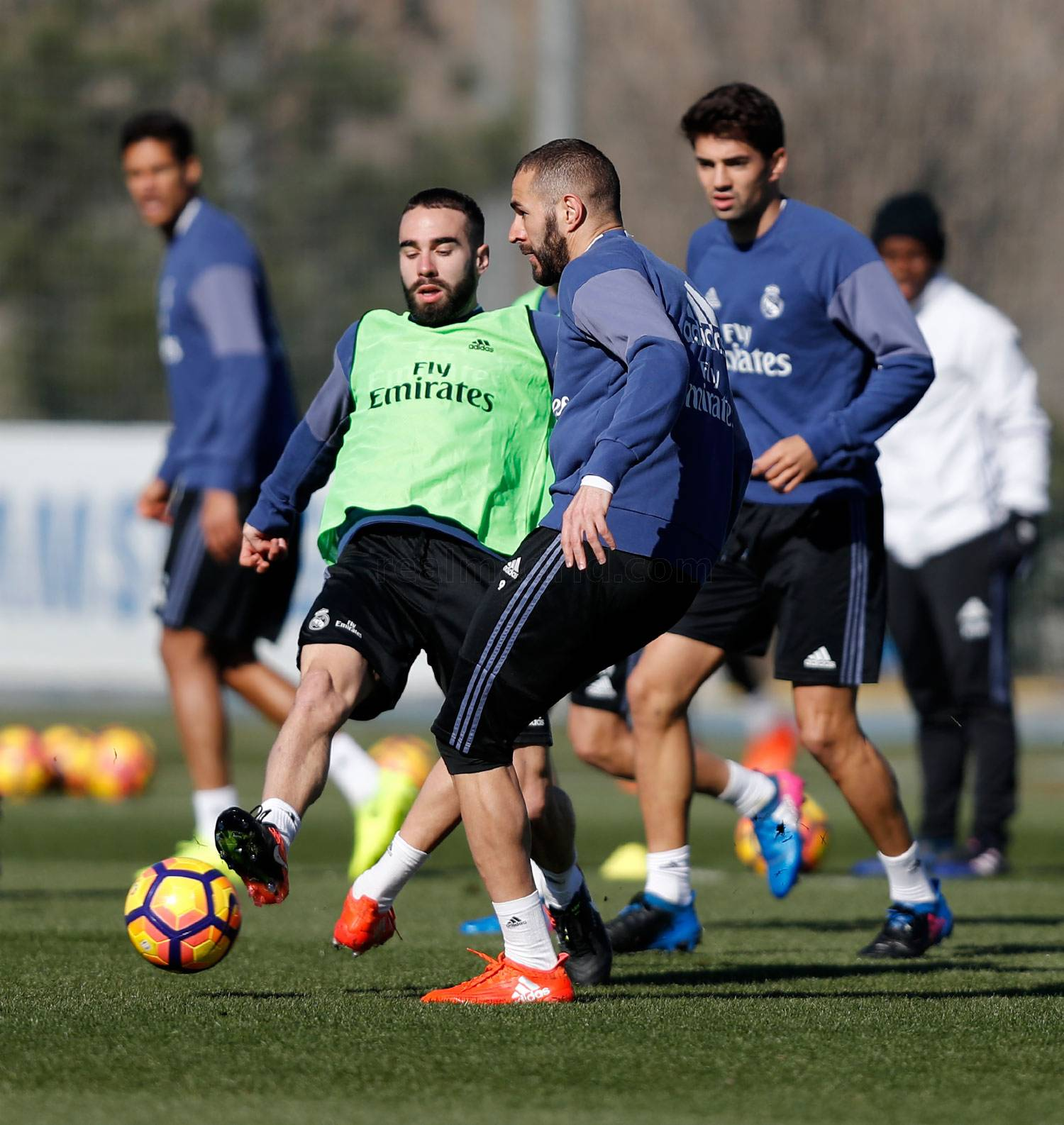 Real Madrid - Entrenamiento del Real Madrid - 21-02-2017