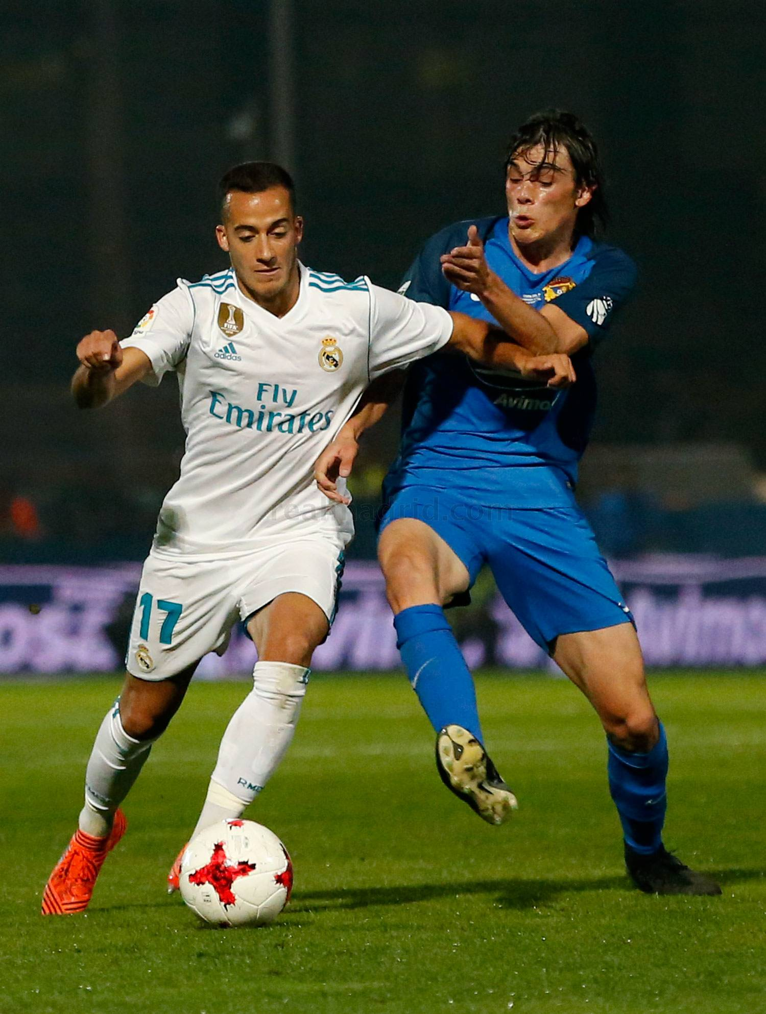 Real Madrid - Fuenlabrada - Real Madrid - 26-10-2017