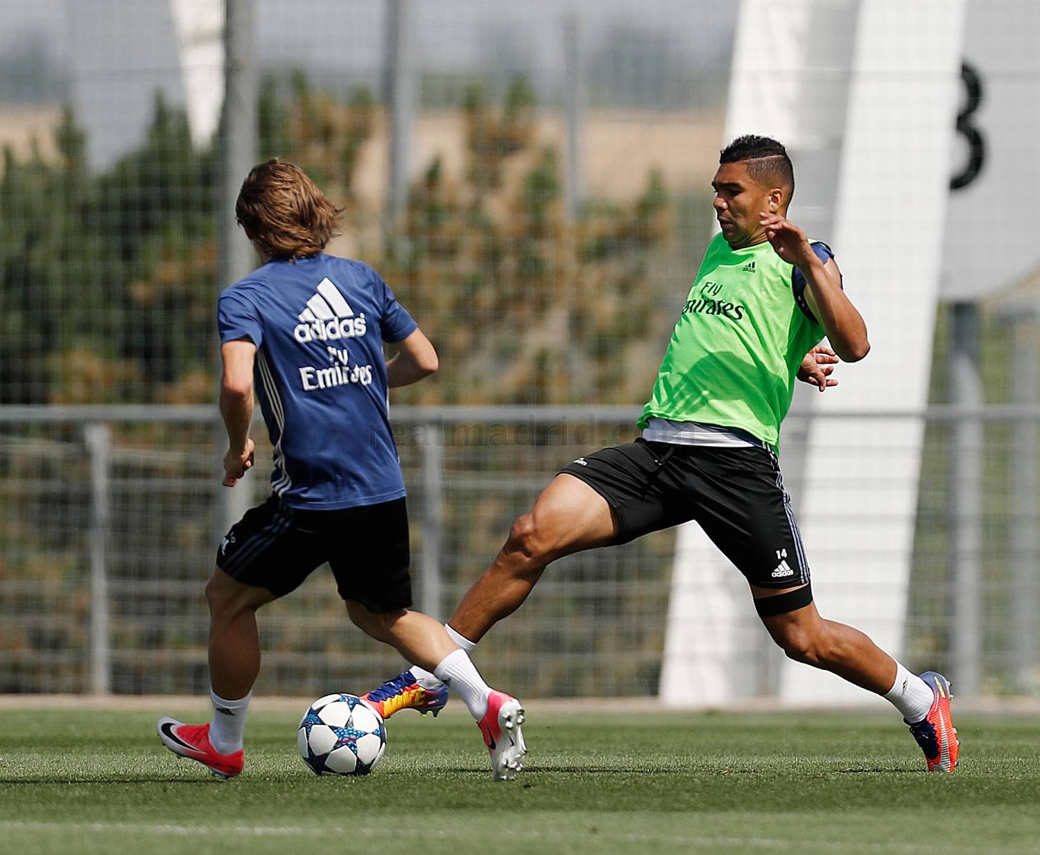 Real Madrid - Entrenamiento del Real Madrid - 27-05-2017
