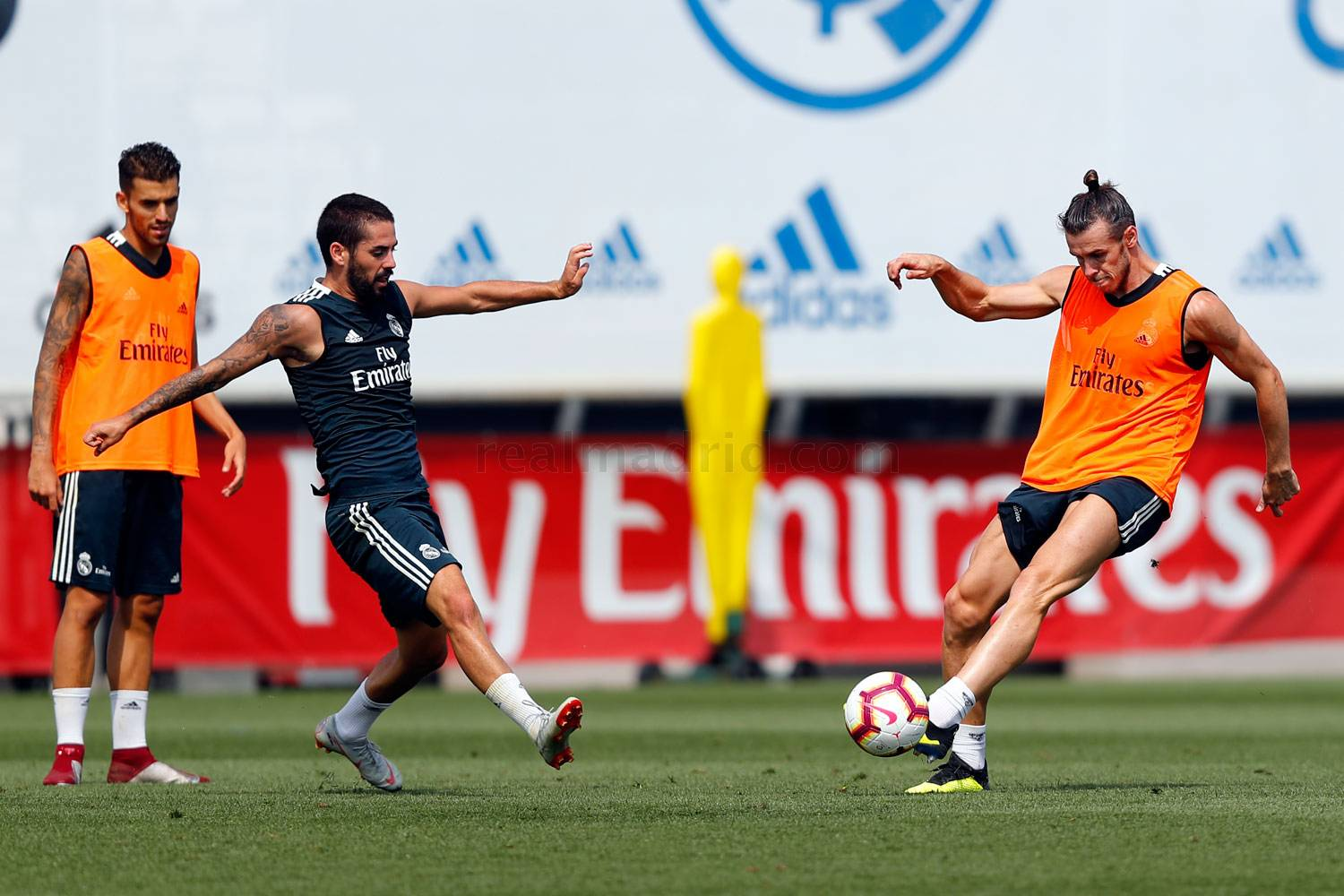 Real Madrid - Entrenamiento del Real Madrid - 22-08-2018