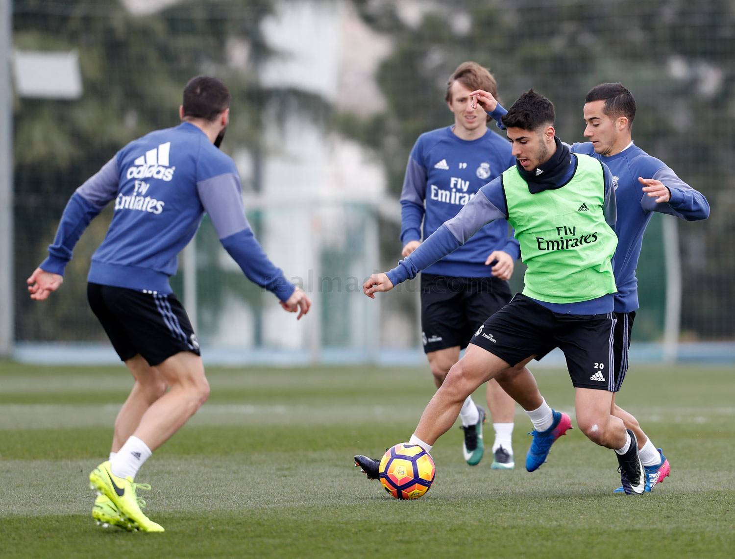 Real Madrid - Entrenamiento del Real Madrid - 03-03-2017