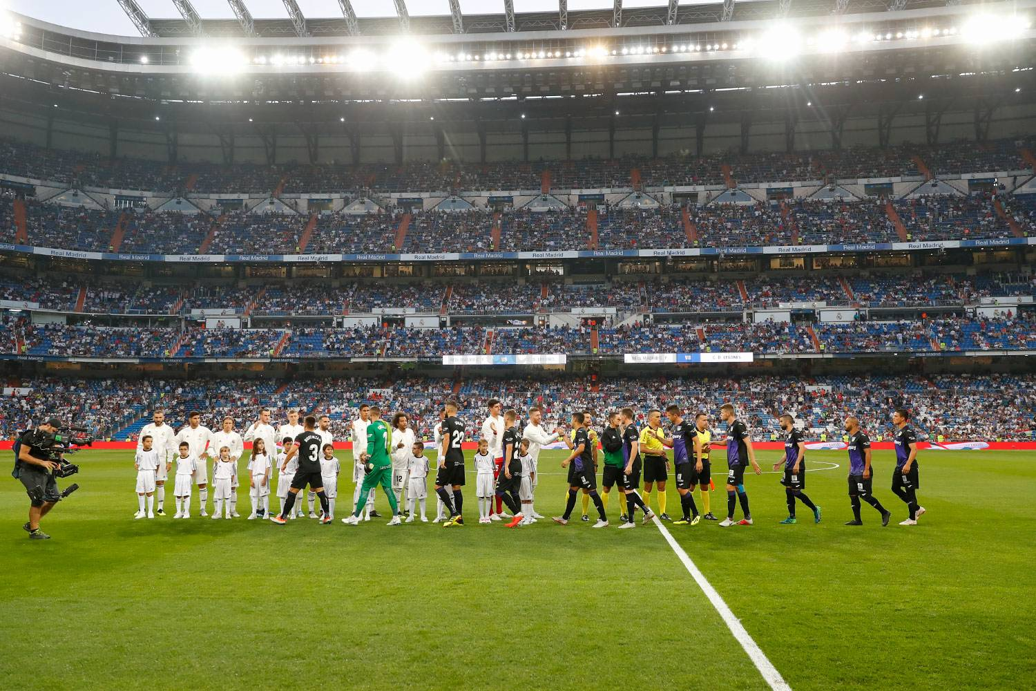 Real Madrid - Real Madrid - Leganés - 02-09-2018