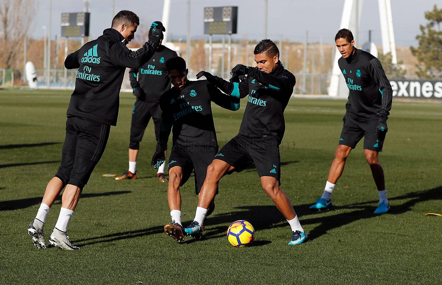 Real Madrid - Entrenamiento del Real Madrid - 01-12-2017