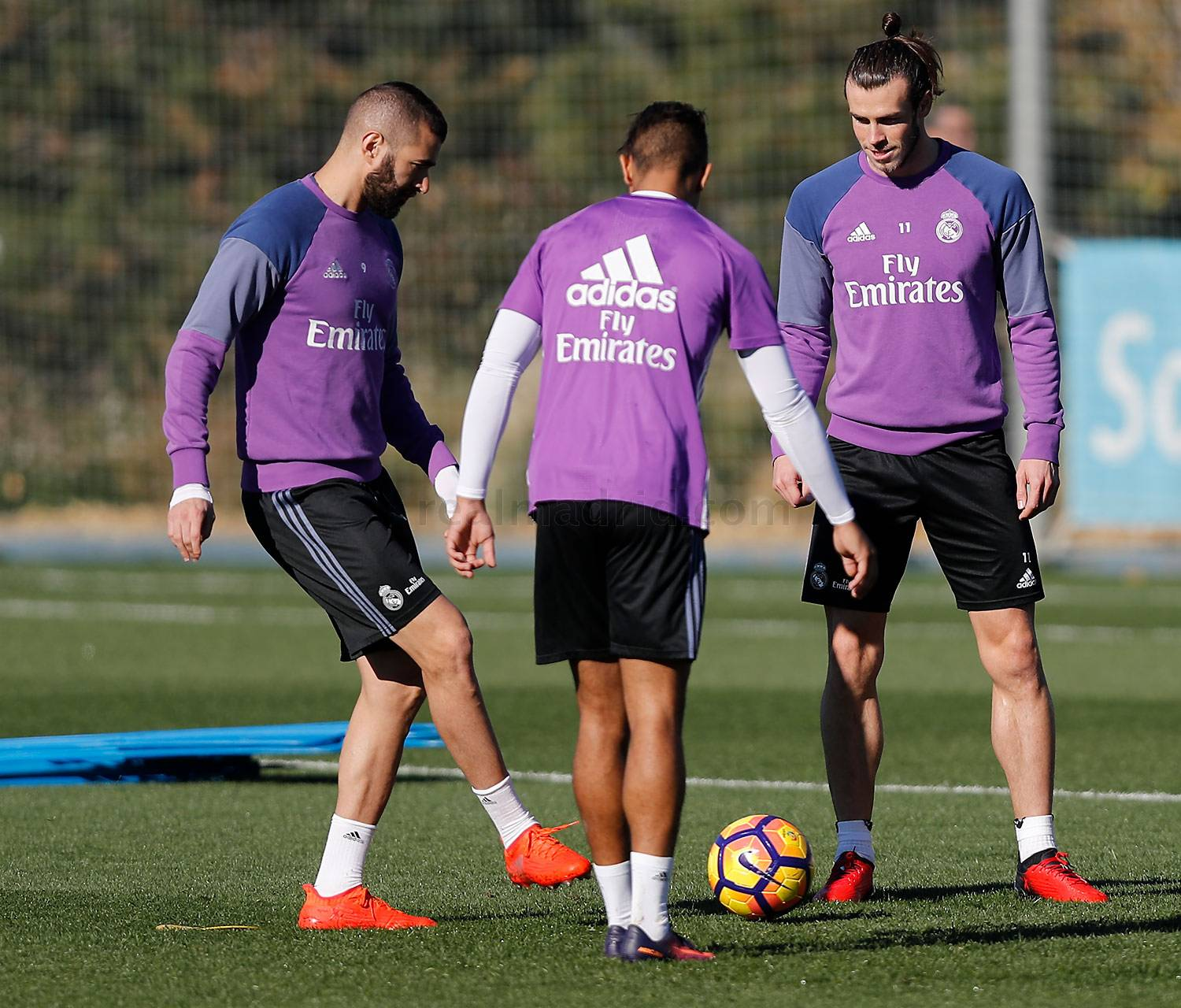 Real Madrid - Entrenamiento del Real Madrid - 17-11-2016