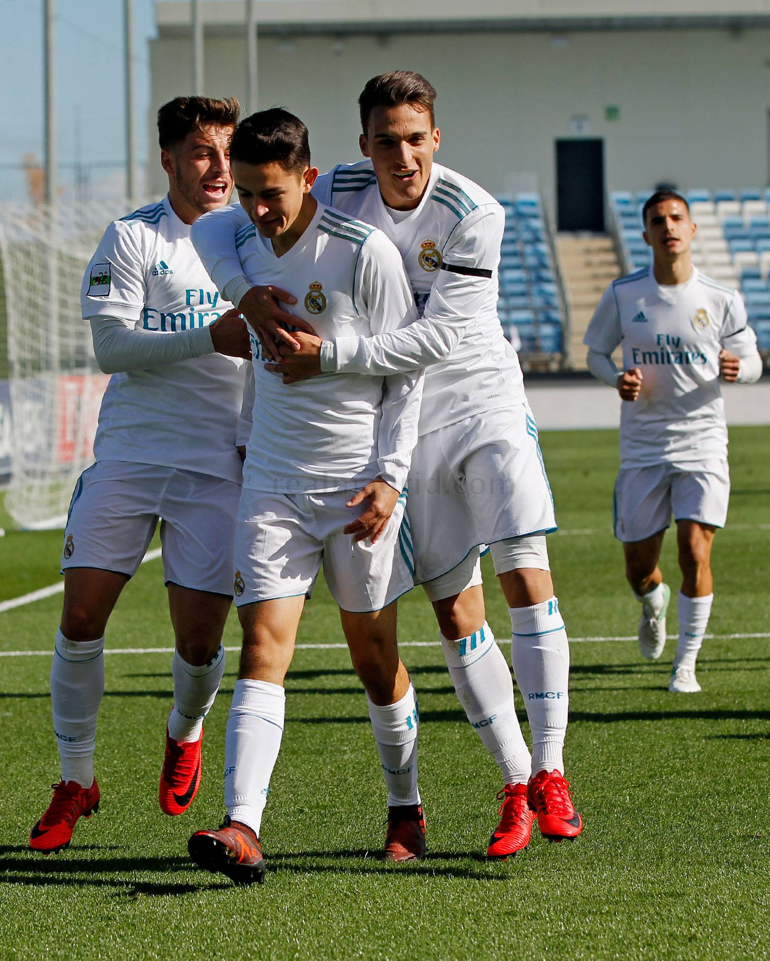 Real Madrid - Real Madrid Castilla - Bouza - 05-11-2017