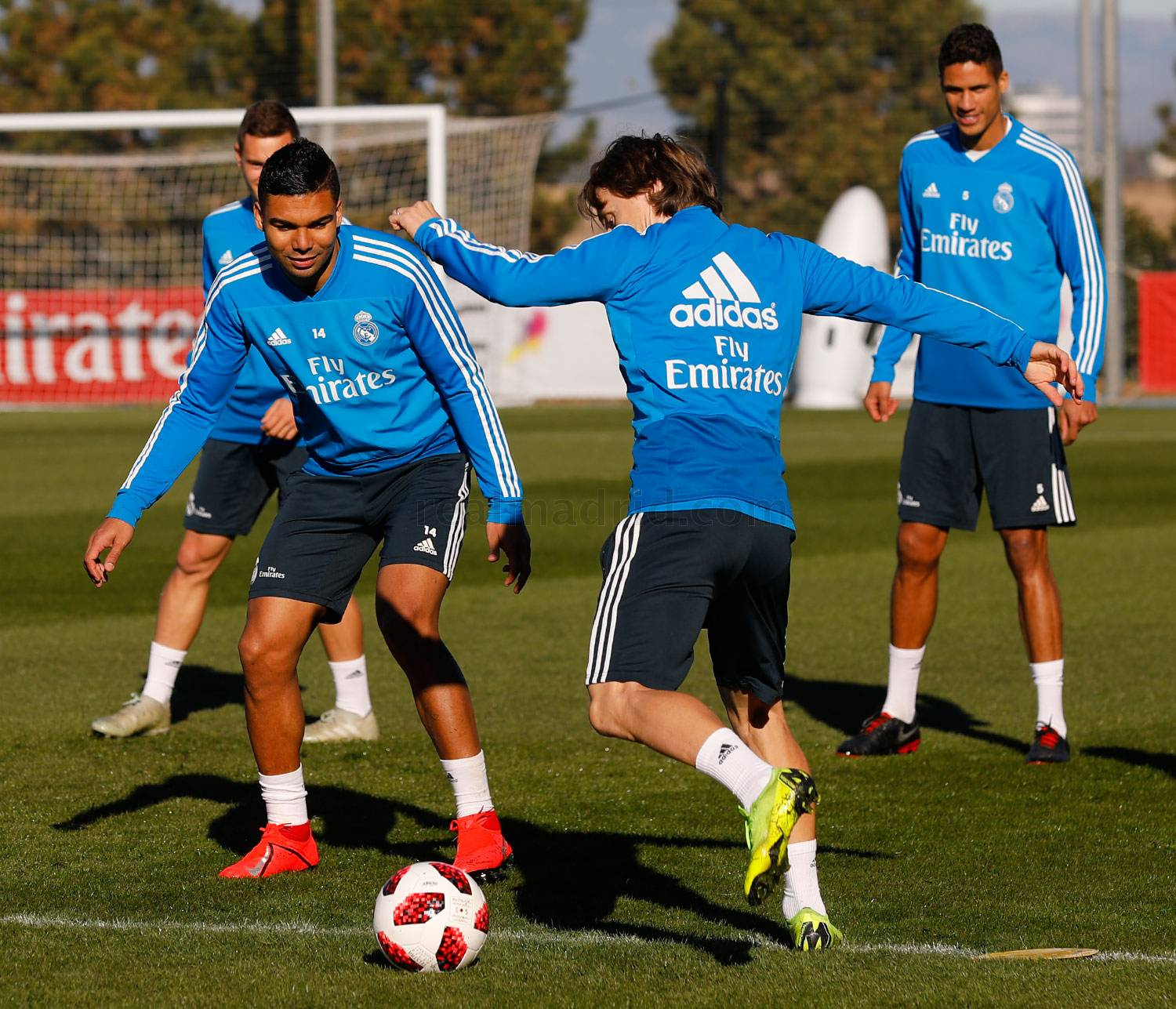 Real Madrid - Entrenamiento del Real Madrid - 15-01-2019