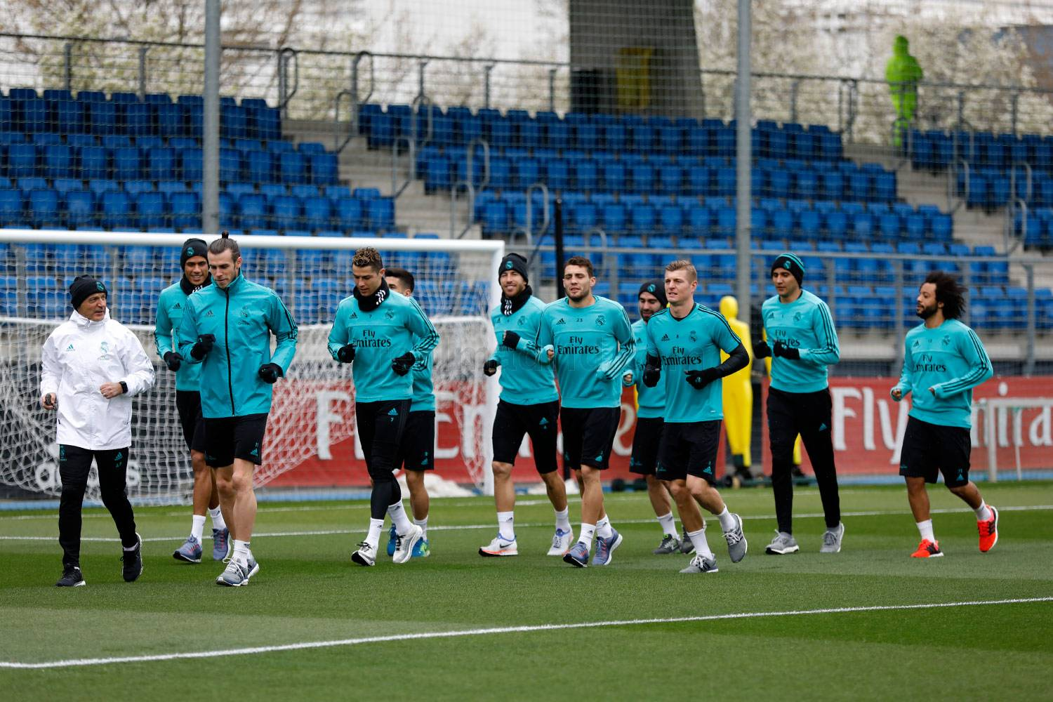 Real Madrid - Entrenamiento del Real Madrid - 09-04-2018