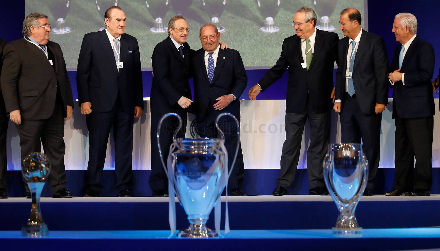 Real Madrid - Paco Gento, Presidente de Honor del Real Madrid - 23-10-2016